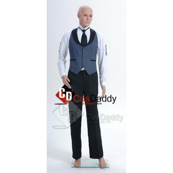 Black Butler Kuroshitsuji Sebastian Cosplay Costume