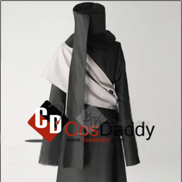 Black Butler Kuroshitsuji Undertaker Coat Hat Outfit Cosplay Costume