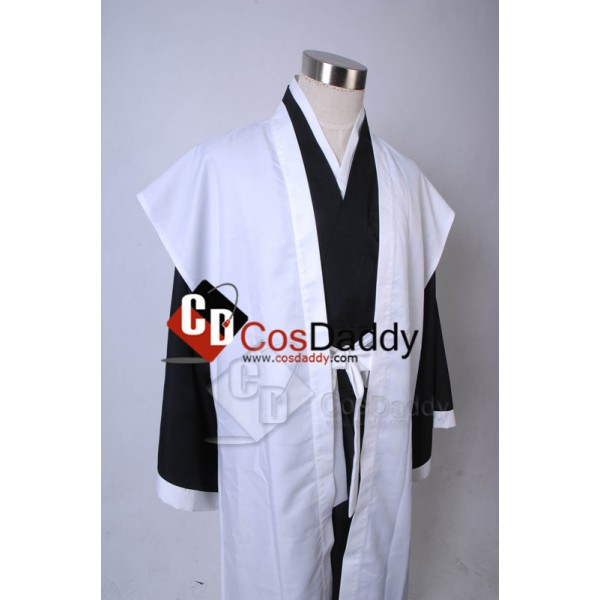 Bleach 10th Division Captain Toushiro Hitsugaya Cosplay Costume