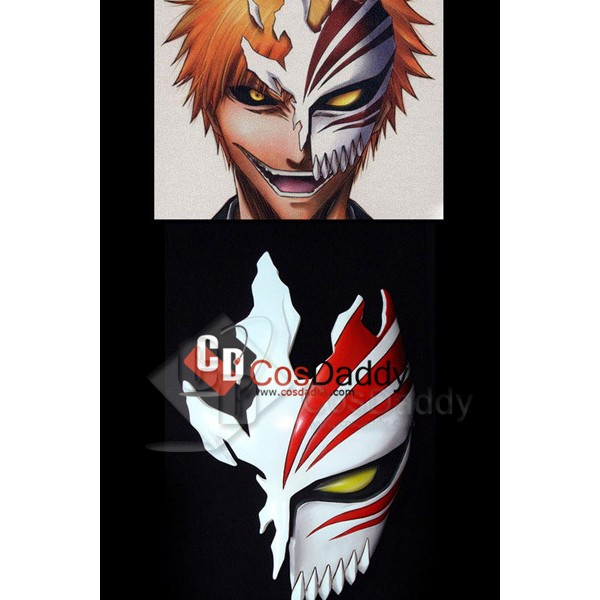 Bleach Ichigo 1/2 Half Hollow Mask Collection V2.0