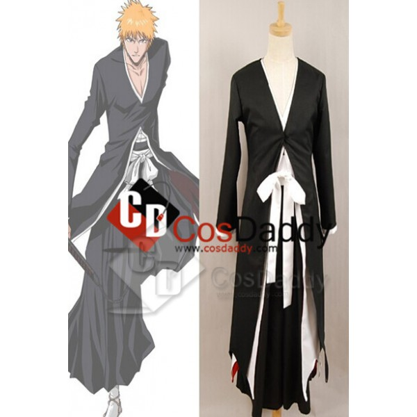 Bleach Ichigo Kurosaki Bankai Form Cosplay Costume...