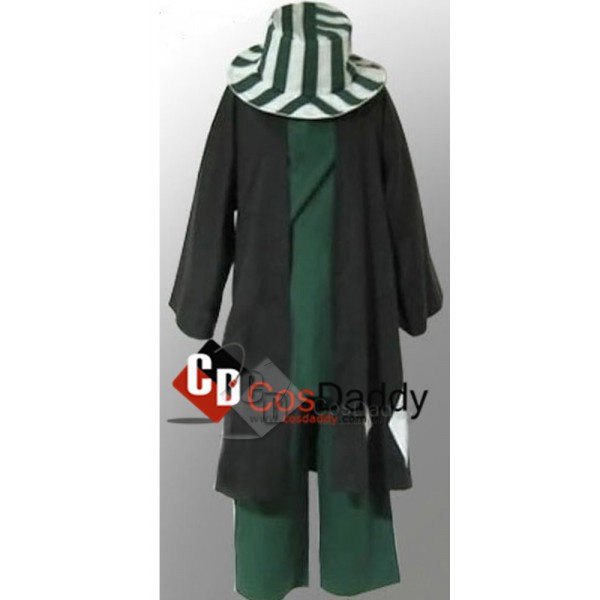 Bleach Urahara Kisuke Jacket Plus Hats Cosplay Cos...
