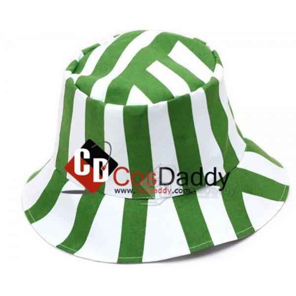 Bleach Urahara Kisuke Jacket Plus Hats Cosplay Costume