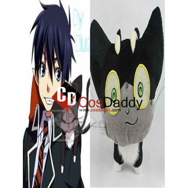 Blue Exorcist Ao no Cat Sith Kuro Stuffed Toy Plus...