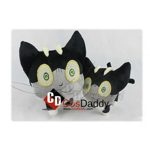 Blue Exorcist Ao no Cat Sith Kuro Stuffed Toy Plush