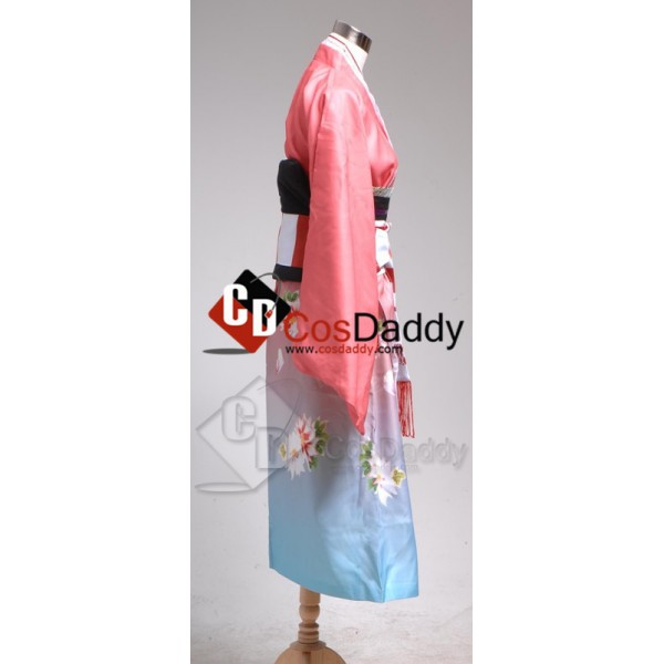 Blue Exorcist Ao no Exorcist Shiemi Moriyama Kimono Cosplay Costume