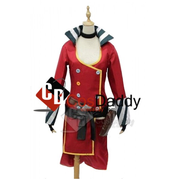 Borderlands 2 Mad Moxxi Red Outfit Unifrom Hat Set...