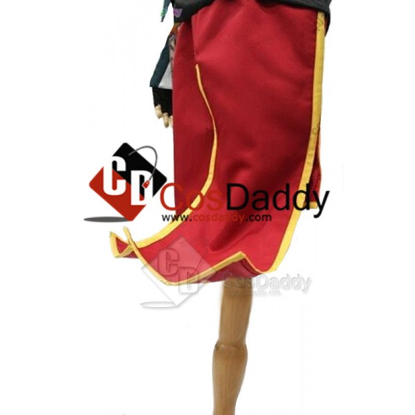 Borderlands 2 Mad Moxxi Red Outfit Unifrom Hat Set Cosplay Costume