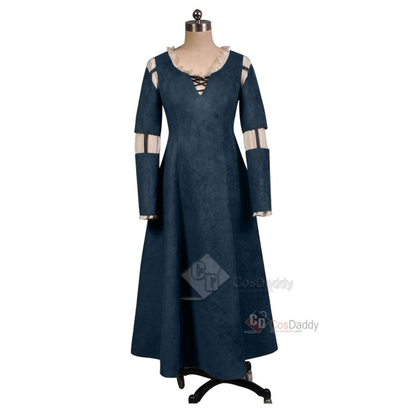 Brave Princess Merida Dress Cosplay Costume