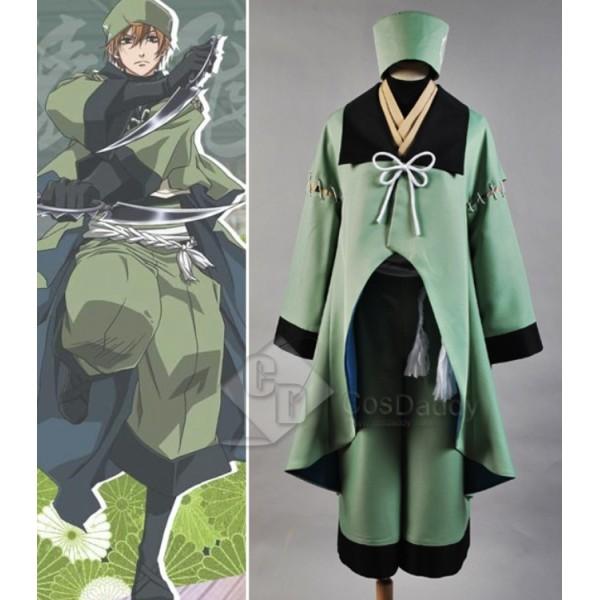 BRAVE10 BRAVE 10 Sarutobi Sasuke Cosplay Costume