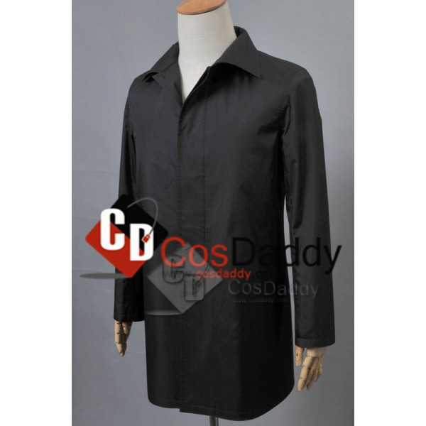 Broadchurch Alec Hardy Trench Coat Cosplay Costume