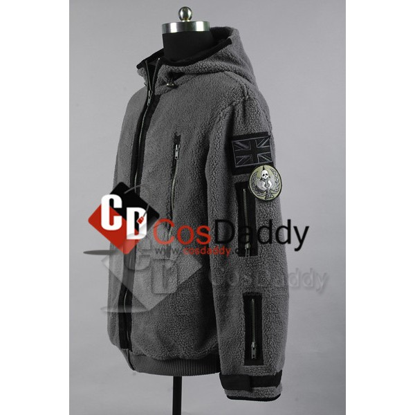 Call of Duty Task Force 141 Ghost Jacket Cosplay Costume