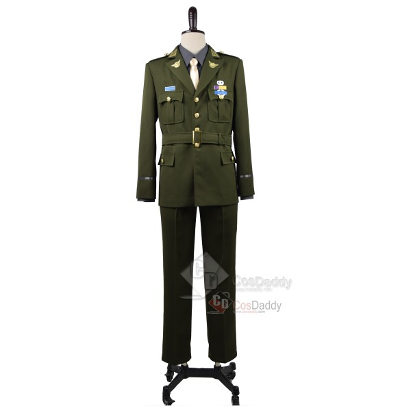Captain America Steve Rogers WWII Army SSR Uniform...