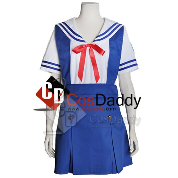 Clannad School Girl Uniform Summer Version Cosplay...