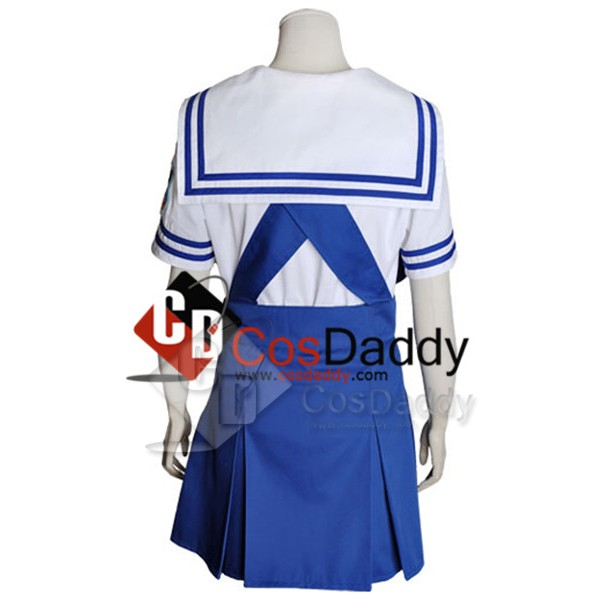 Clannad School Girl Uniform Summer Version Cosplay Costume