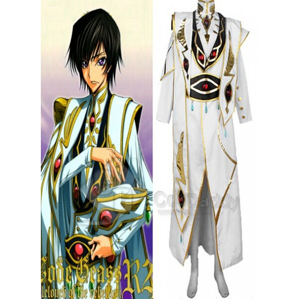 Code Geass:Lelouch of the Rebellion Emperor Cosplay Costume