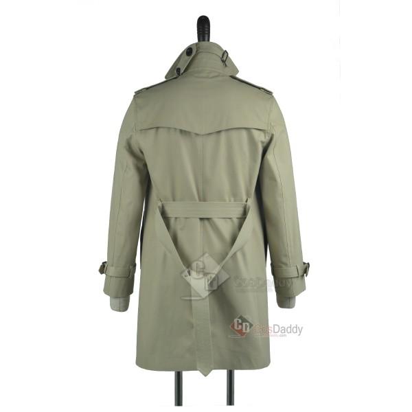 Constantine John Constantine Trench Coat Cosplay Costume