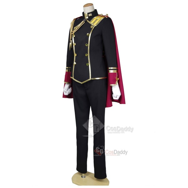 Cute High Earth Defense Club LOVE! Conquest Club Kinshirou Kusatsu Cosplay Costume