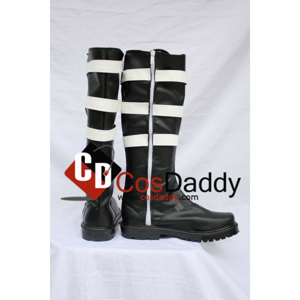 D.Gray-man Cosplay Classical Black boots Custom Made