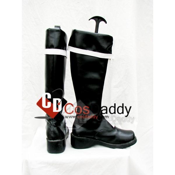 D.Gray-man Cosplay Zipper boots Custom Made