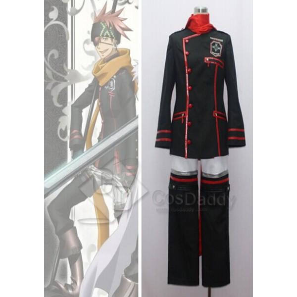 D.Gray Man Lavi Rabi Black New Cosplay Costume