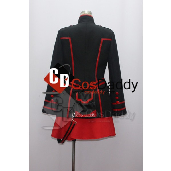 D Gray-Man Lenalee Lee New Black Cosplay Costume