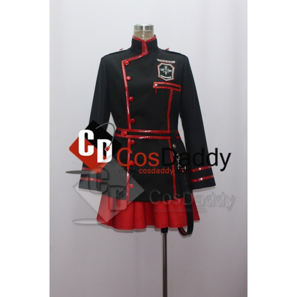 D Gray-Man Lenalee Lee New Black Cosplay Costume
