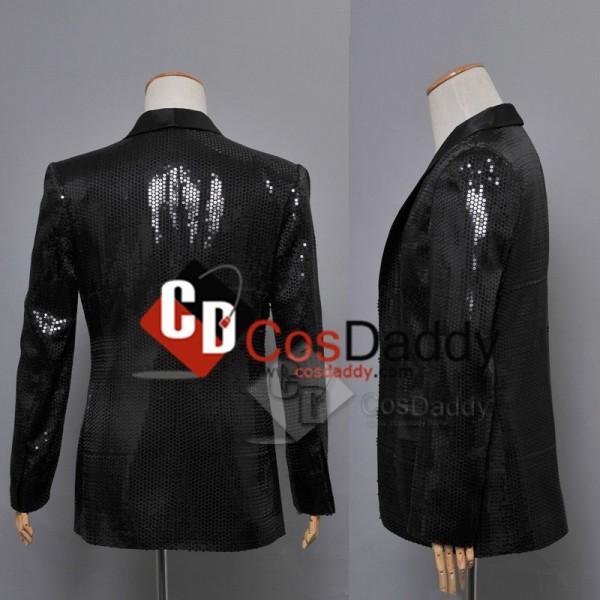 Daft Punk Random Access Memories Black Jacket Cosplay Costume