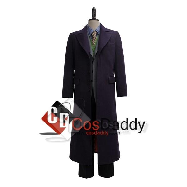 Batman Dark Knight the  Joker Suit Cosplay Costume (Wool)