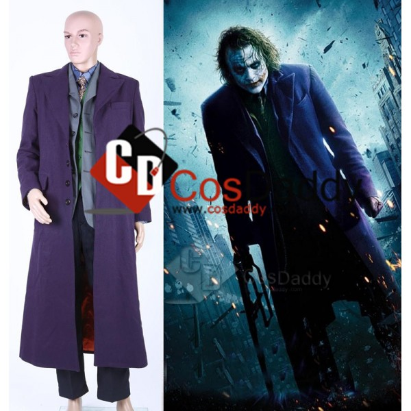 Batman: Dark Knight  Joker Suit Cosplay Costume (C...