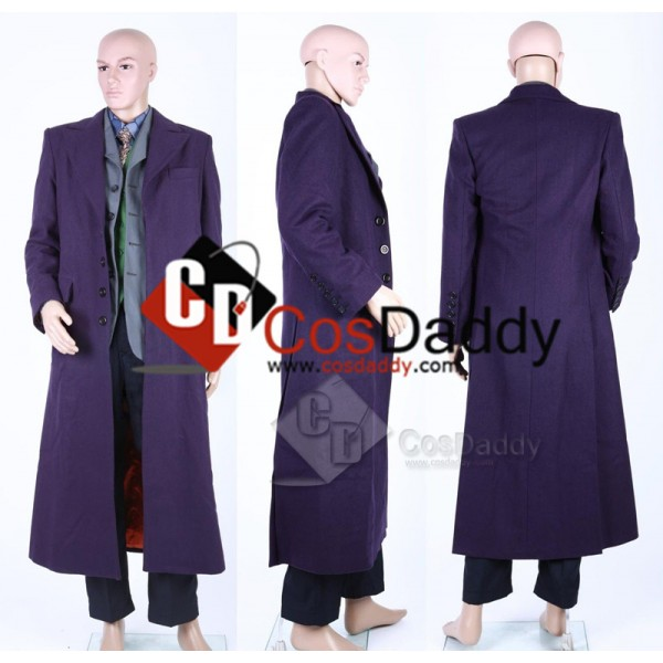 Batman: Dark Knight  Joker Suit Cosplay Costume (Cotton)