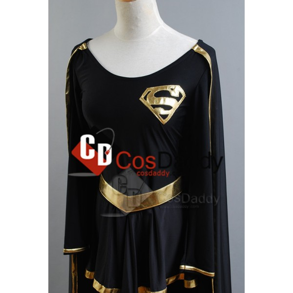 DC Comics Dark Supergirl Cosplay Costume