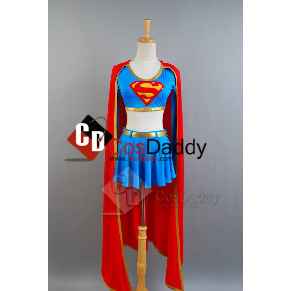 DC Comics Supergirl Cosplay Costume Separated Vers...