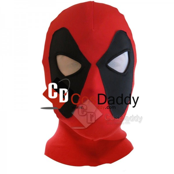 Deadpool Cosplay Costume Headwear Adult Size Hallo...