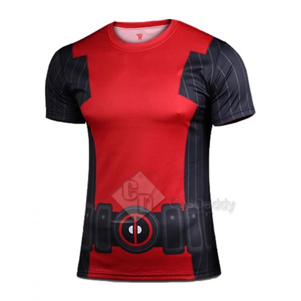 Deadpool Marvel Comics Short Sleeves T-Shirt