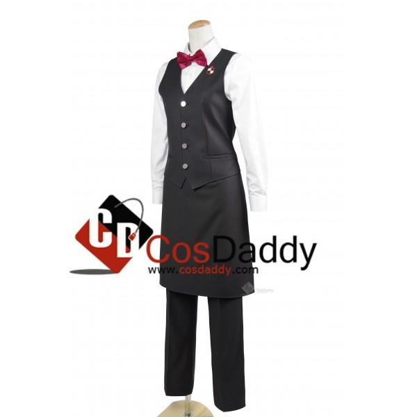 Death Parade Dekimu Bartender Uniform Cosplay Costume