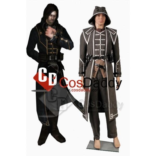 Dishonored Corvo Attano Cosplay Grey Cosplay Costume