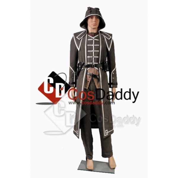 Dishonored Corvo Attano Cosplay Grey Cosplay Costu...