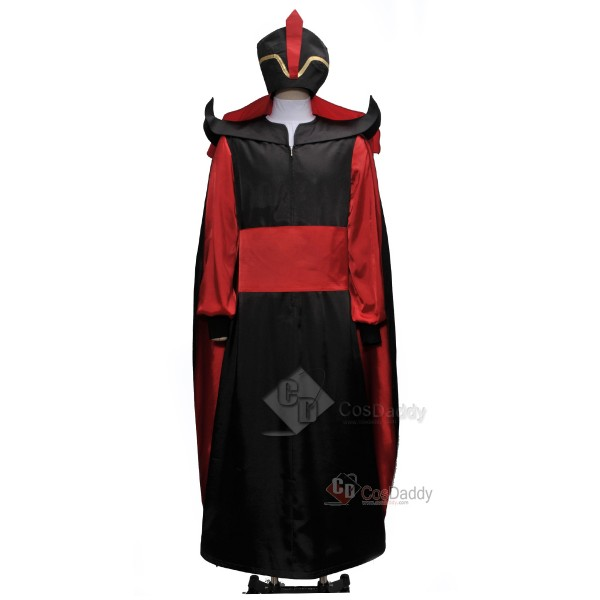Disney Aladdin Jafar Villain Cosplay Costume