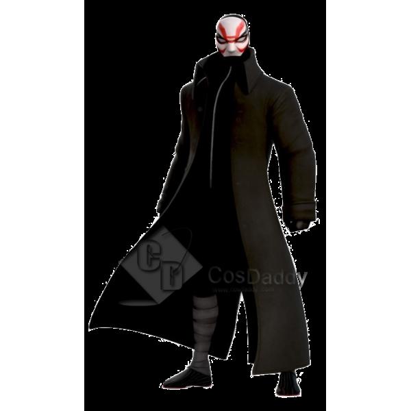 Big Hero 6 Kabuki Trench Coat Cosplay Costume