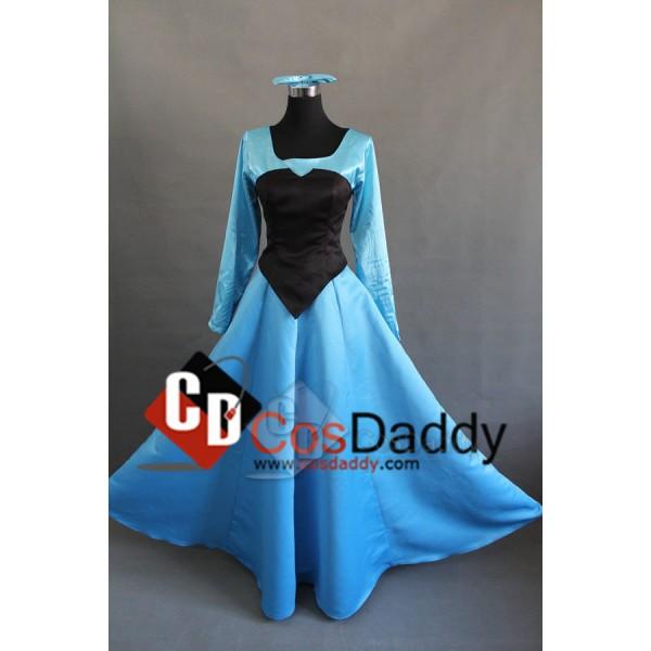 Disney Princess Ariel The Little Mermaid Dress Cosplay Costume