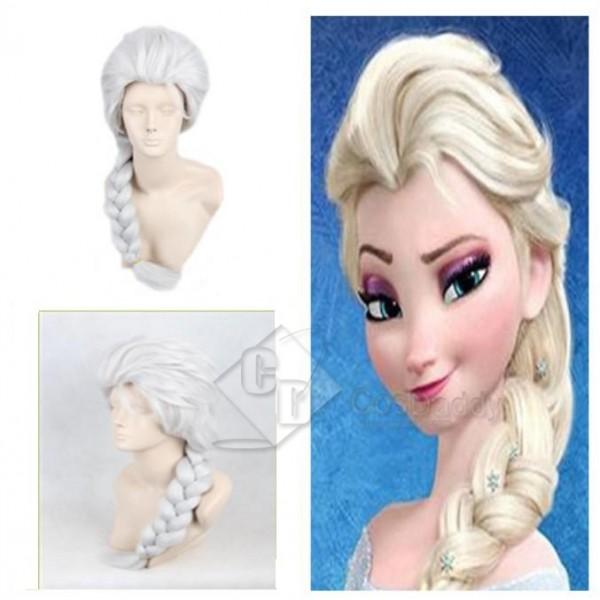 Disney Movies Frozen Snow Queen Elsa (Silver Gray) Wig