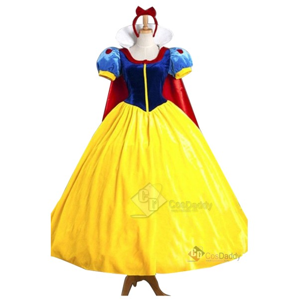 Disney Snow White Princess Dress Stage Show Party ...