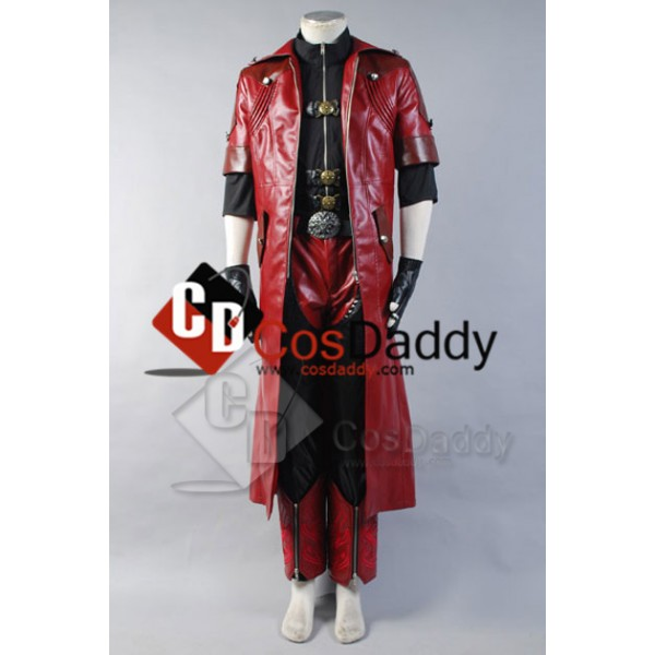 DMC Devil May Cry 4 Dante Cosplay Costume