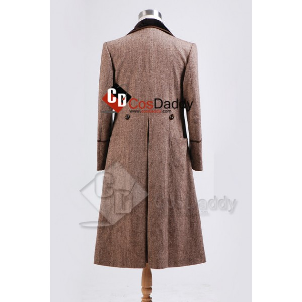 Doctor Who Fourth 4th Doctor Brown Coat Costume