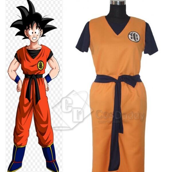 Dragon Ball Z Goku Cosplay Costume