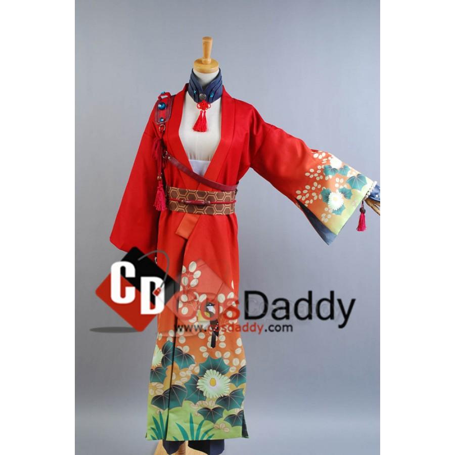 DRAMAtical Murder Mink Uniform Cosplay Clothing Cos Cos