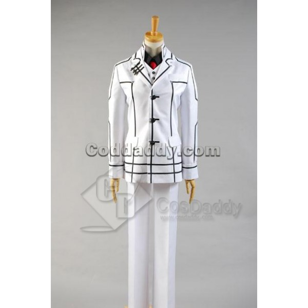 Vampire Knight Zero Kiryuu White Cosplay Costume