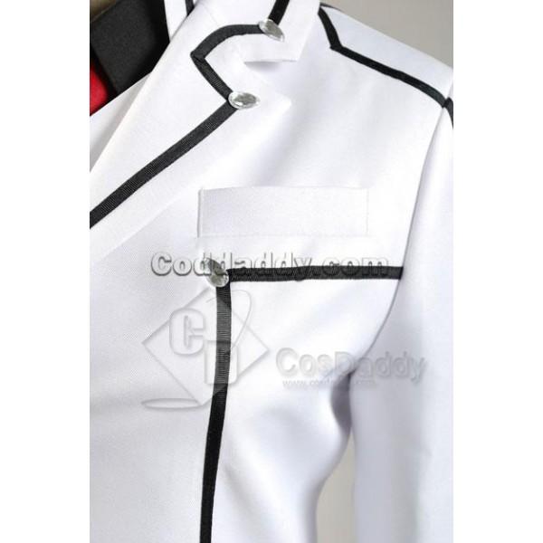 Vampire Knight Zero Kiryuu White Cosplay Costume