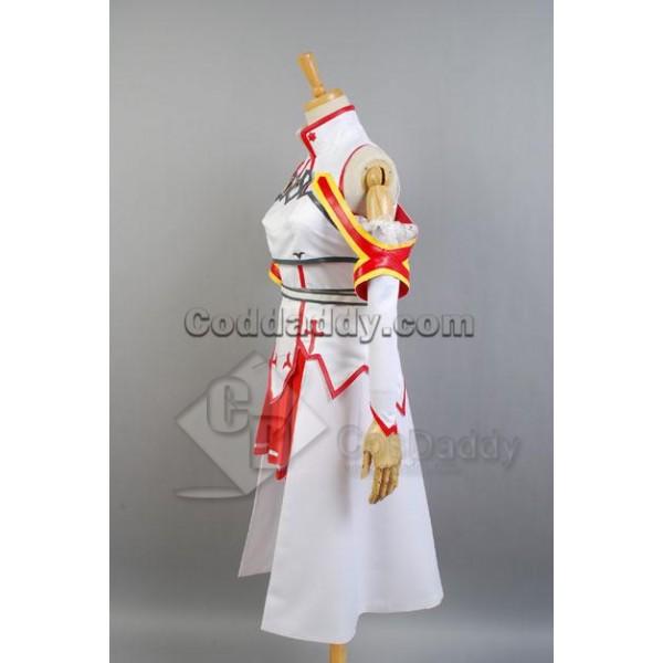 Sword Art Online Asuna Cosplay Costume